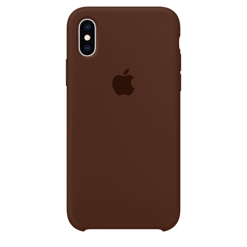 Case Capinha Chocolate para iPhone X e XS de Silicone
