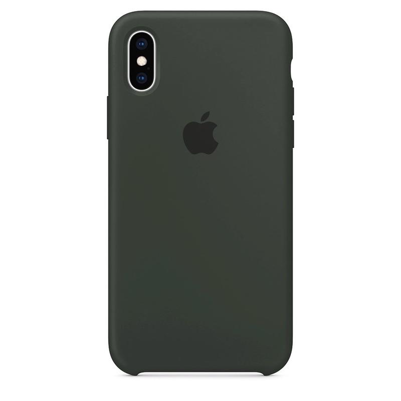 Case Capinha Cinza Escuro para iPhone X e XS de Silicone