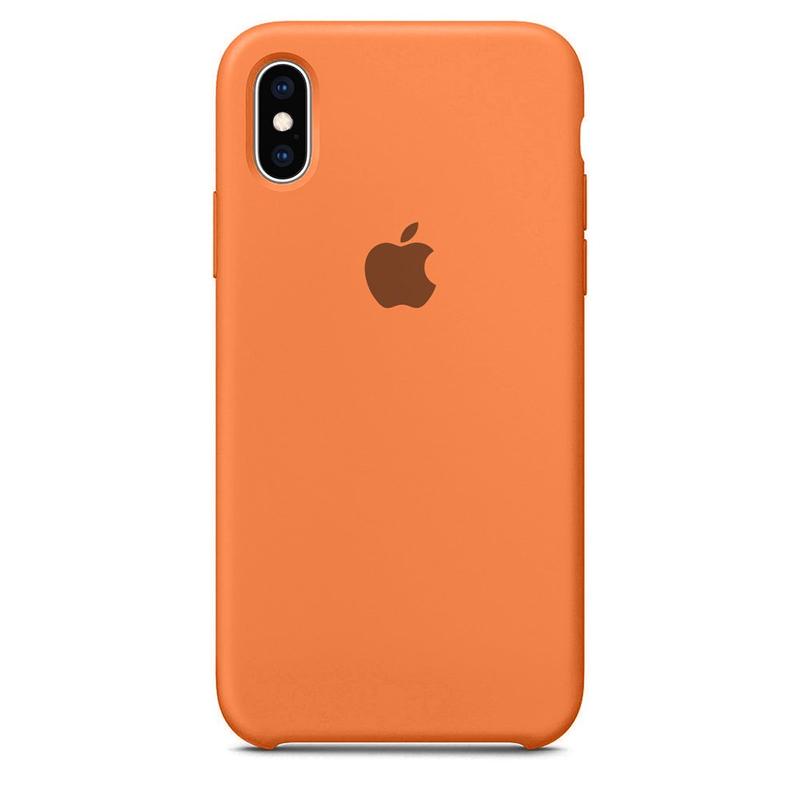 Case Capinha Tangerina para iPhone X e XS de Silicone