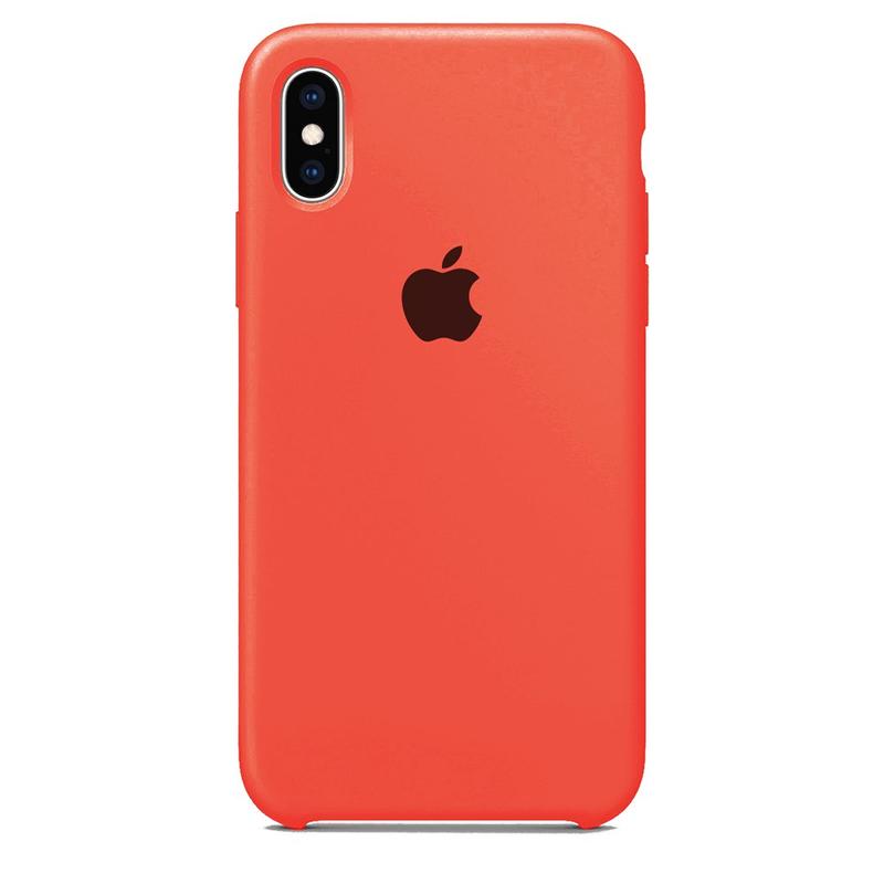 Case Capinha Rosa Neon para iPhone X e XS de Silicone