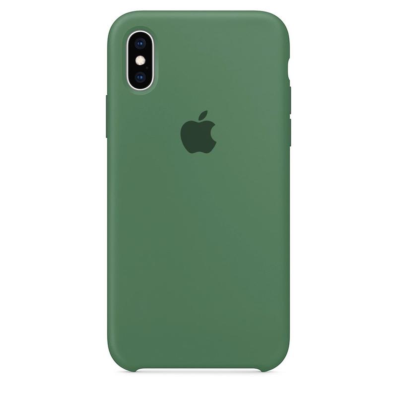 Case Capinha Verde Pacífico para iPhone X e XS de Silicone