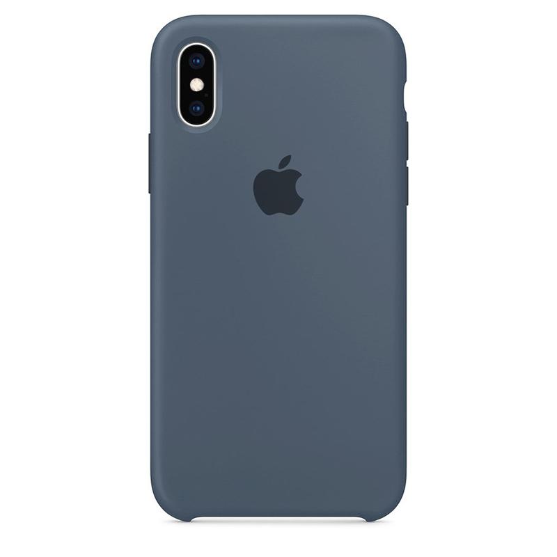 Case Capinha Azul Holandês para iPhone X e XS de Silicone