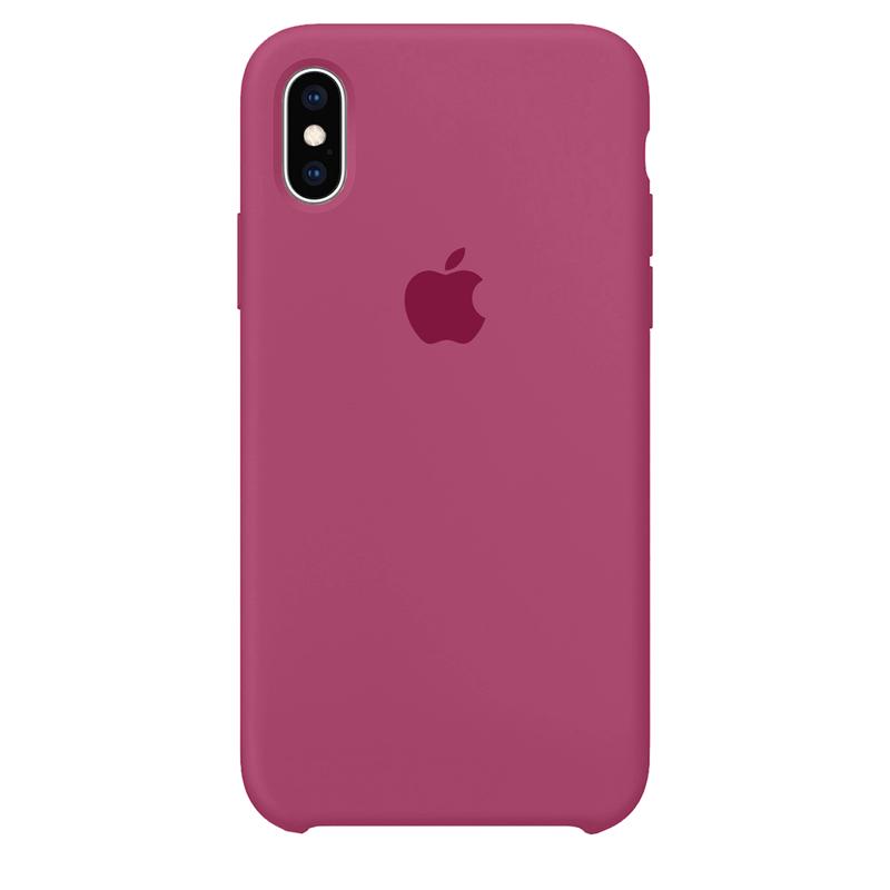 Case Capinha Rosa Hibisco para iPhone X e XS de Silicone