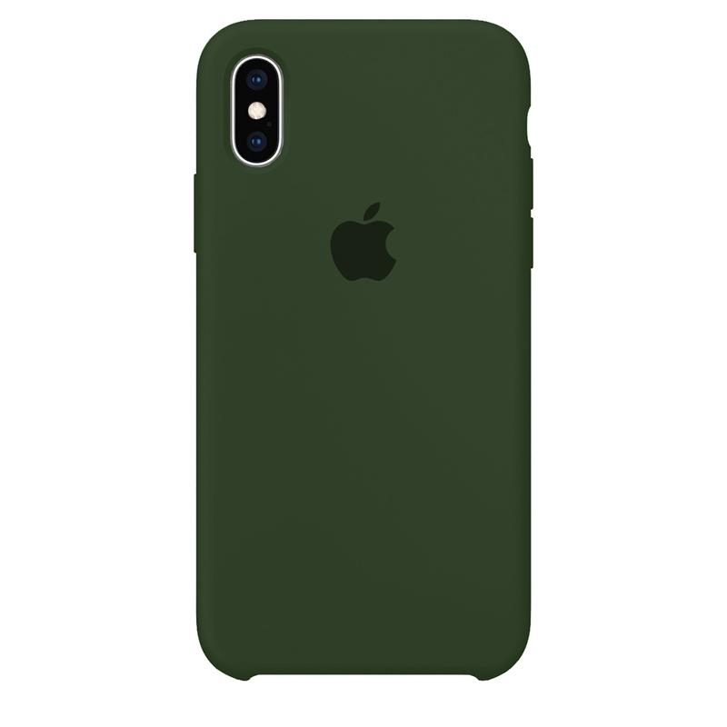 Case Capinha Verde Bandeira para iPhone X e XS de Silicone