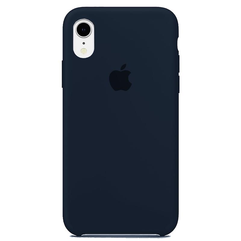Case Capinha Azul Cobalto para iPhone XR de Silicone