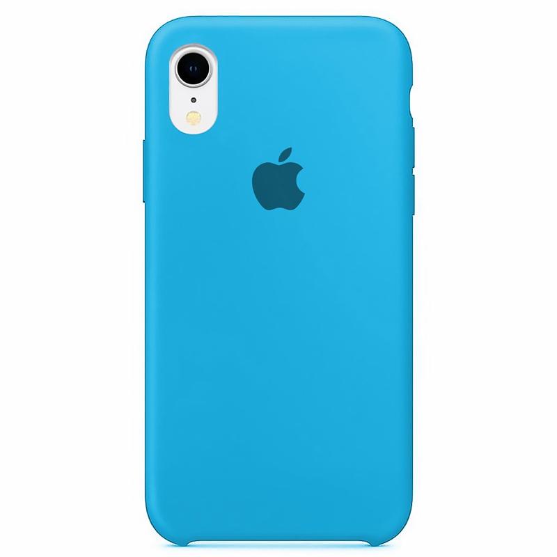 Case Capinha Azul Piscina para iPhone XR de Silicone