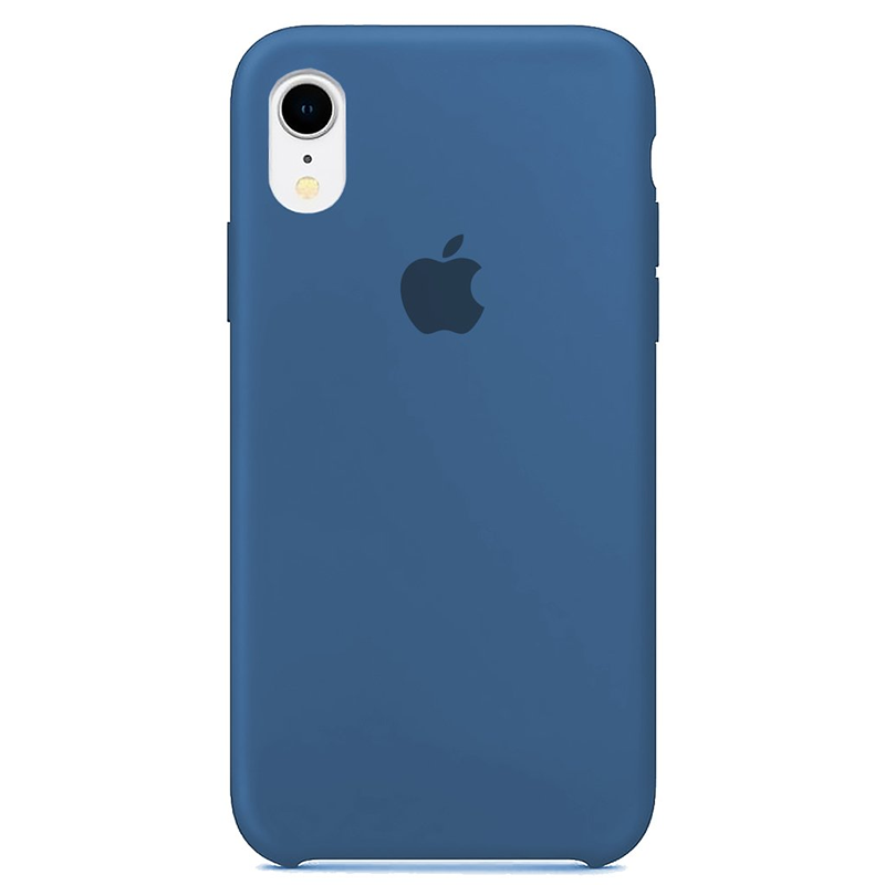 Case Capinha Azul Royal para iPhone XR de Silicone