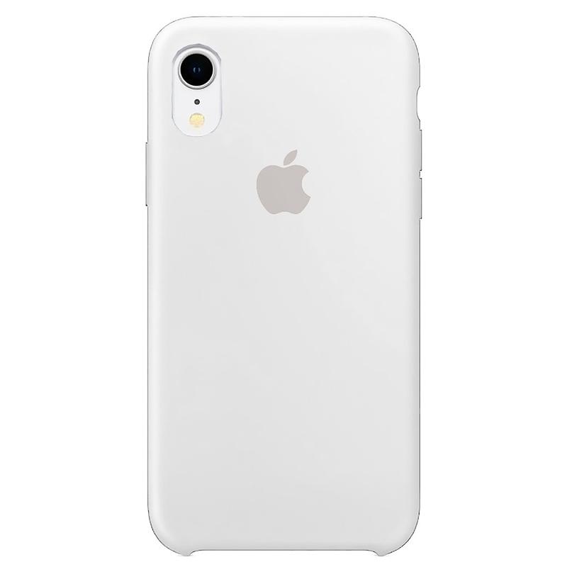 Case Capinha Branca para iPhone XR de Silicone