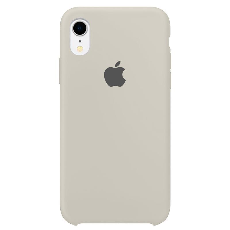 Case Capinha Branco Off-White para iPhone XR de Silicone