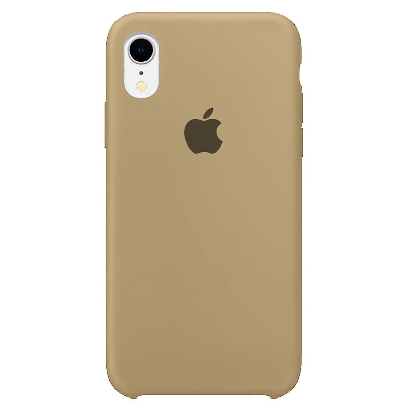 Case Capinha Caramelo para iPhone XR de Silicone