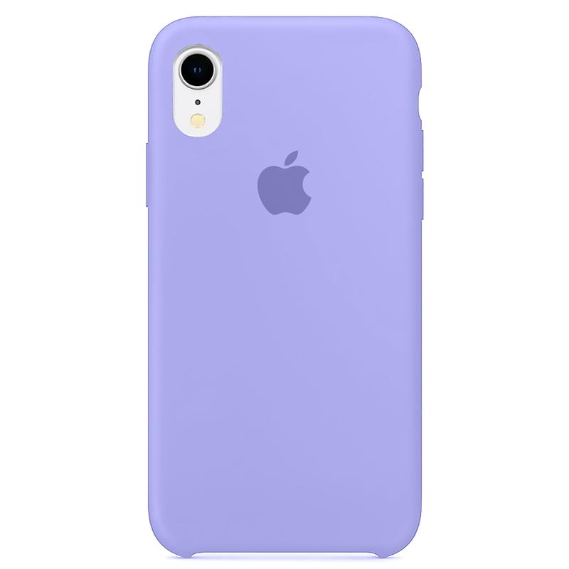 Case Capinha Lilás para iPhone XR de Silicone