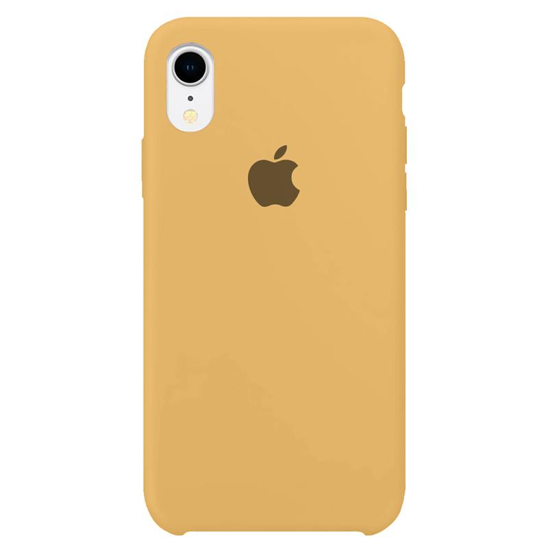 Case Capinha Mostarda para iPhone XR de Silicone