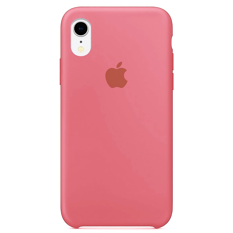 Case Capinha Rosa Chiclete para iPhone XR de Silicone