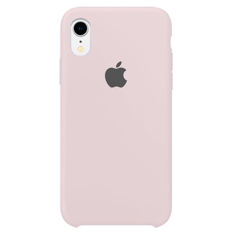 Case Capinha Rosa Claro para iPhone XR de Silicone