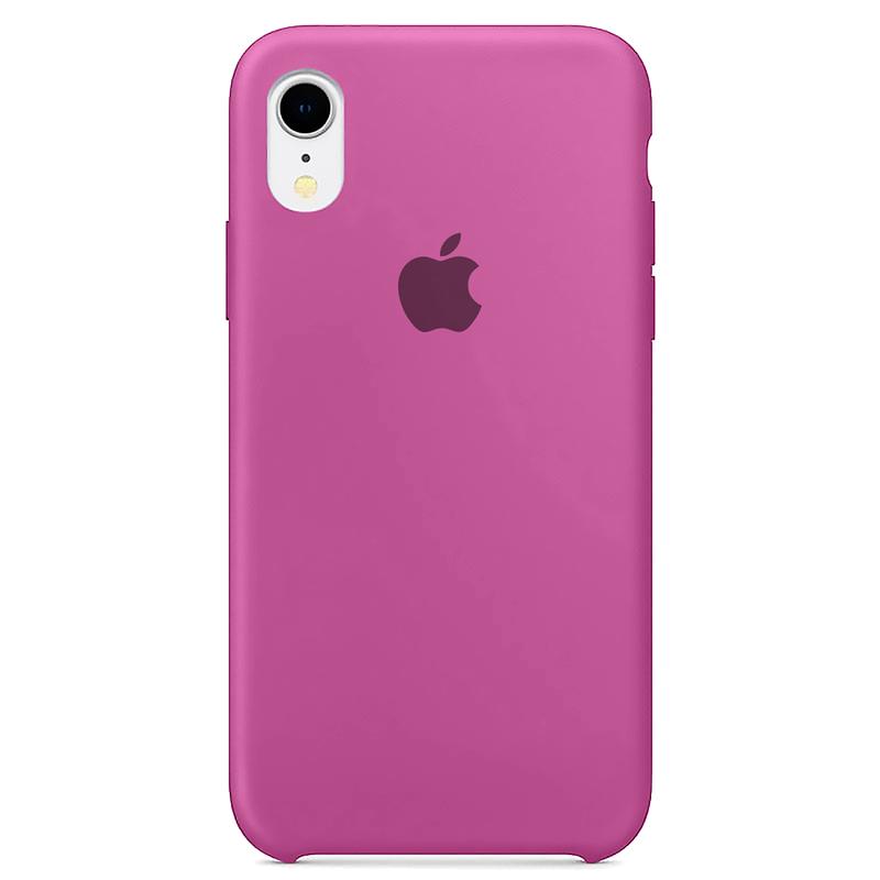 Case Capinha Rosa Hibisco para iPhone XR de Silicone