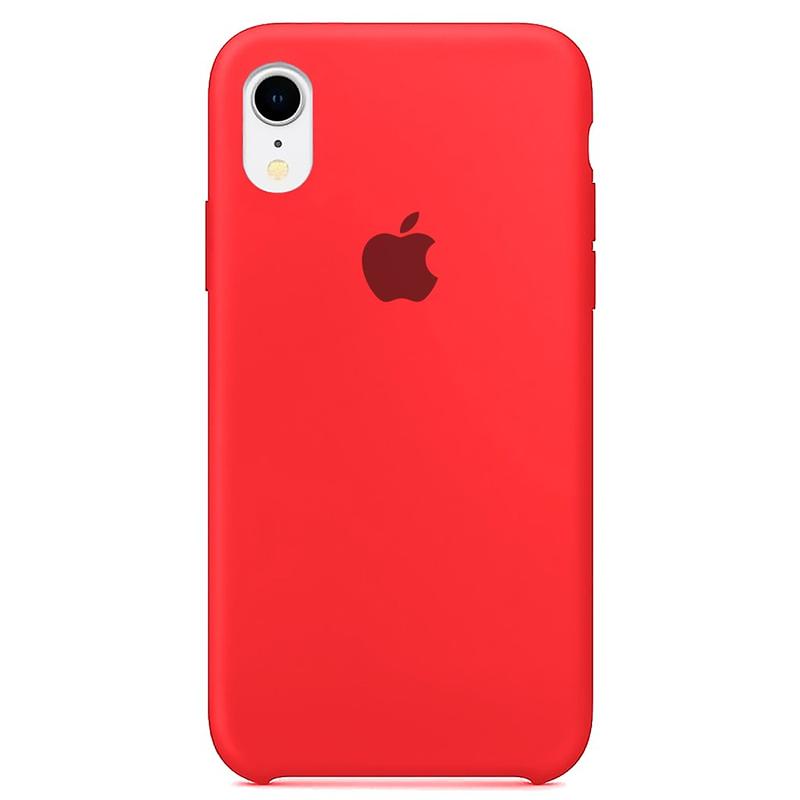 Case Capinha Rosa Neon para iPhone XR de Silicone