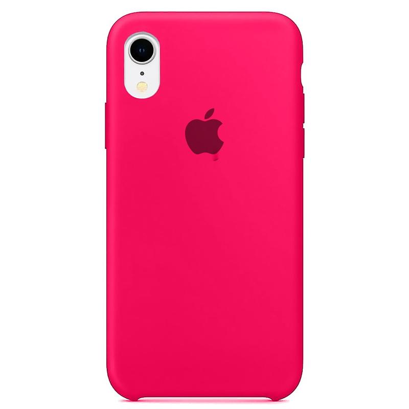 Case Capinha Rosa Pink para iPhone XR de Silicone
