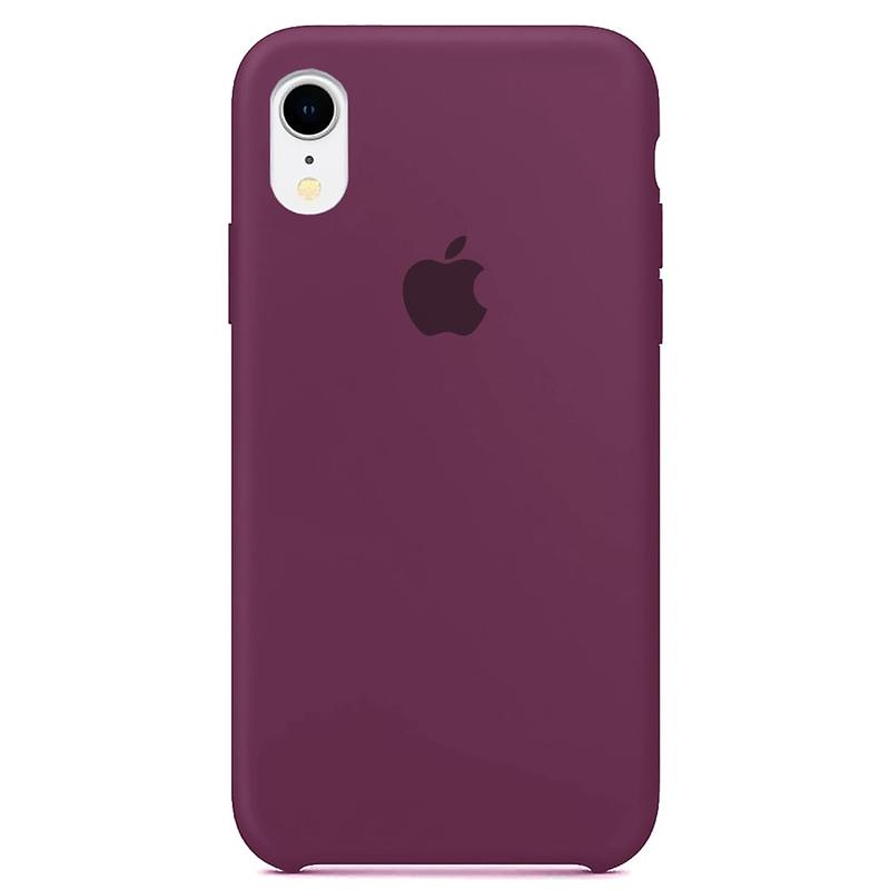 Case Capinha Roxa para iPhone XR de Silicone