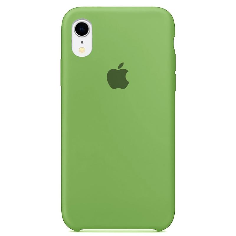 Case Capinha Verde Menta para iPhone XR de Silicone