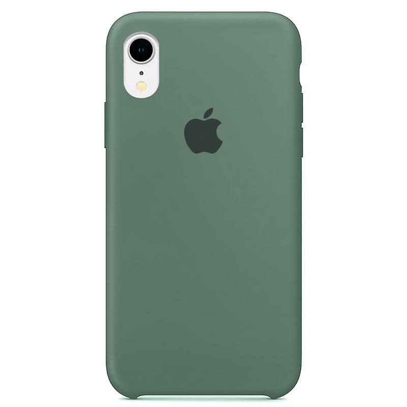 Case Capinha Verde Pacífico para iPhone XR de Silicone