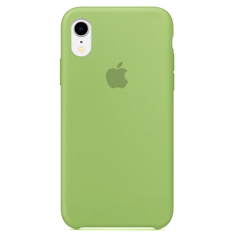 Case Capinha Verde para iPhone XR de Silicone