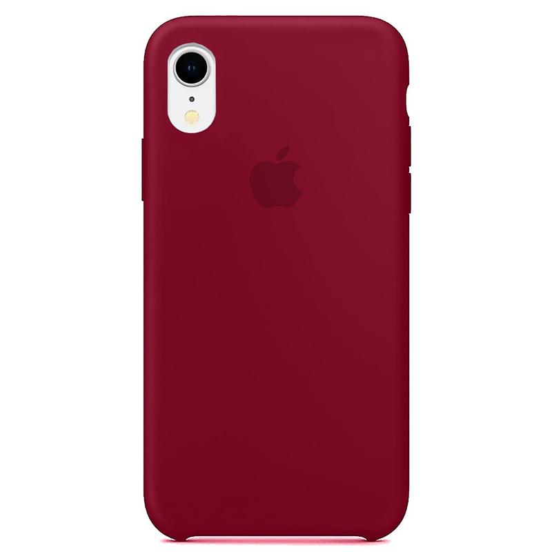 Case Capinha Vinho para iPhone XR de Silicone