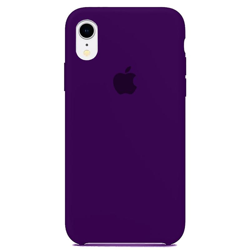 Case Capinha Violeta para iPhone XR de Silicone