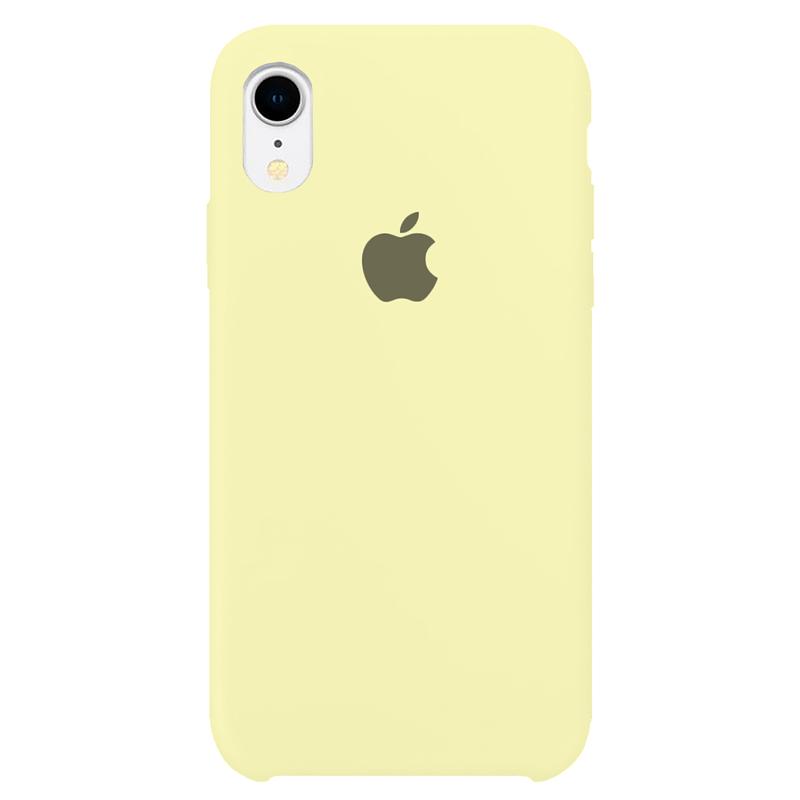 Case Capinha Amarelo Claro para iPhone XR de Silicone