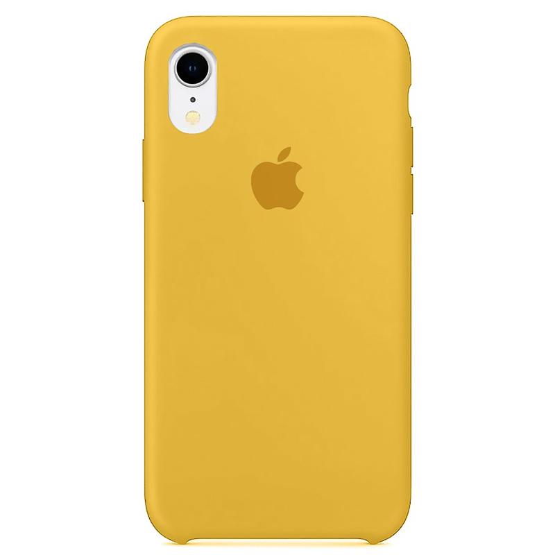 Case Capinha Amarela para iPhone XR de Silicone
