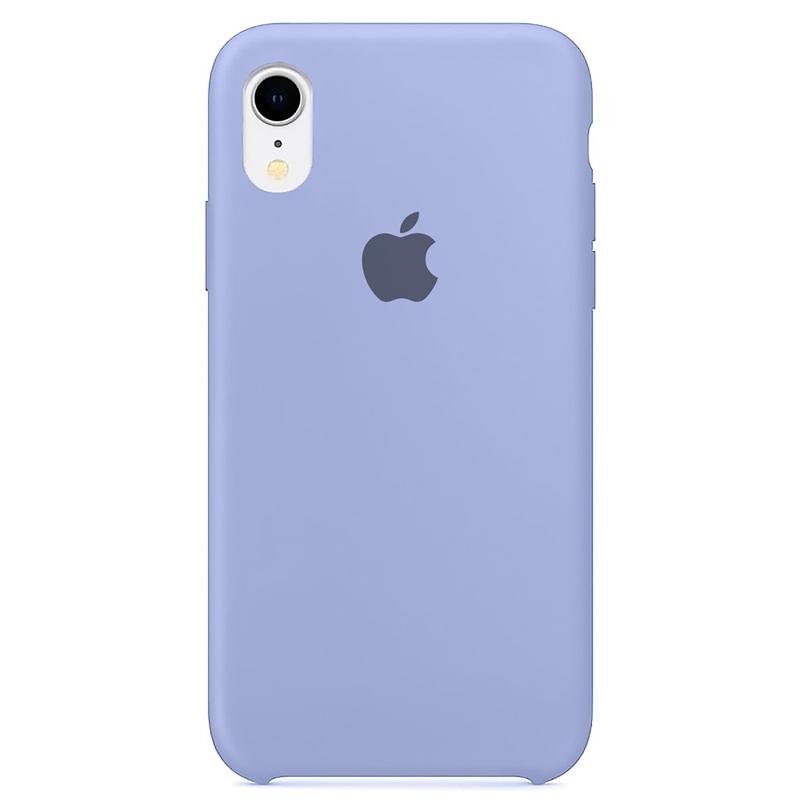Case Capinha Azul Bebê para iPhone XR de Silicone
