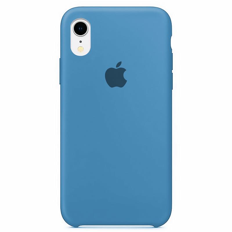Case Capinha Azul Caribe para iPhone XR de Silicone