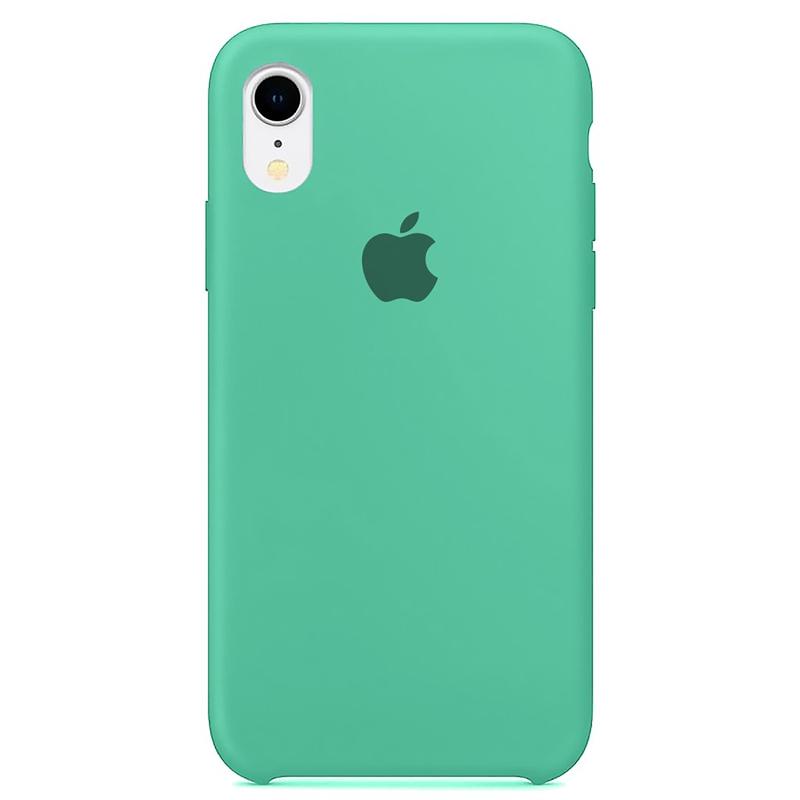 Case Capinha Azul Tiffany para iPhone XR de Silicone