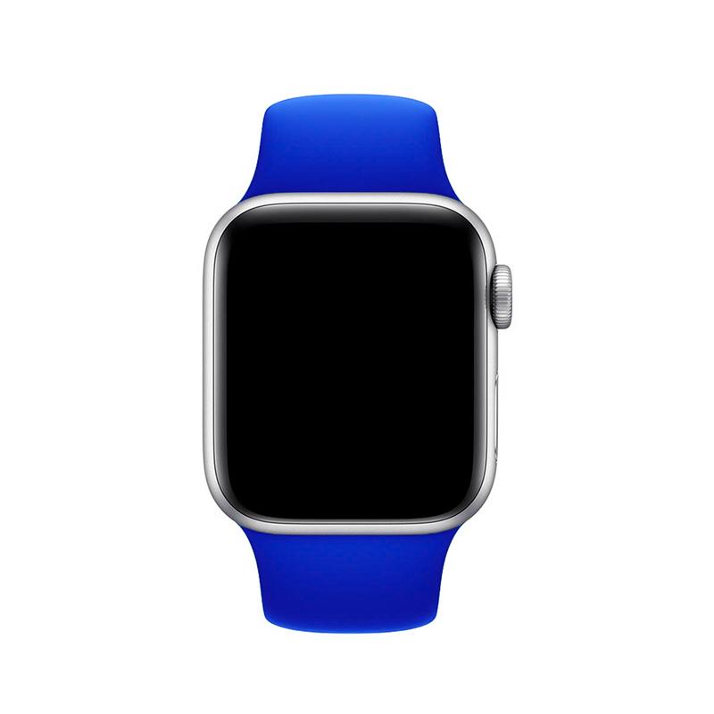 Pulseira Azul Caneta para Apple Watch Serie (1/2/3/4/5/6/SE) de Silicone