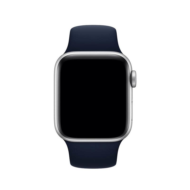 Pulseira Azul Cobalto para Apple Watch Serie (1/2/3/4/5/6/SE) de Silicone