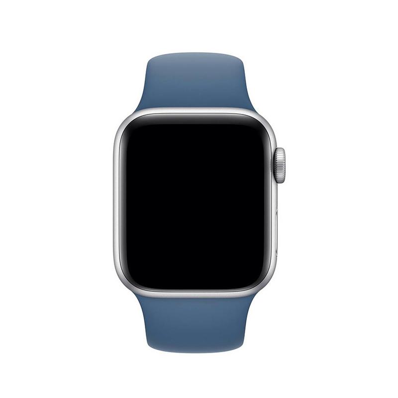 Pulseira Azul Holandês para Apple Watch Serie (1/2/3/4/5/6/SE) de Silicone