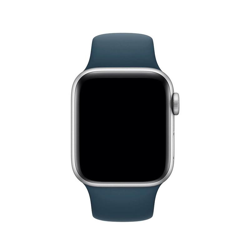 Pulseira Azul Horizonte para Apple Watch Serie (1/2/3/4/5/6/SE) de Silicone
