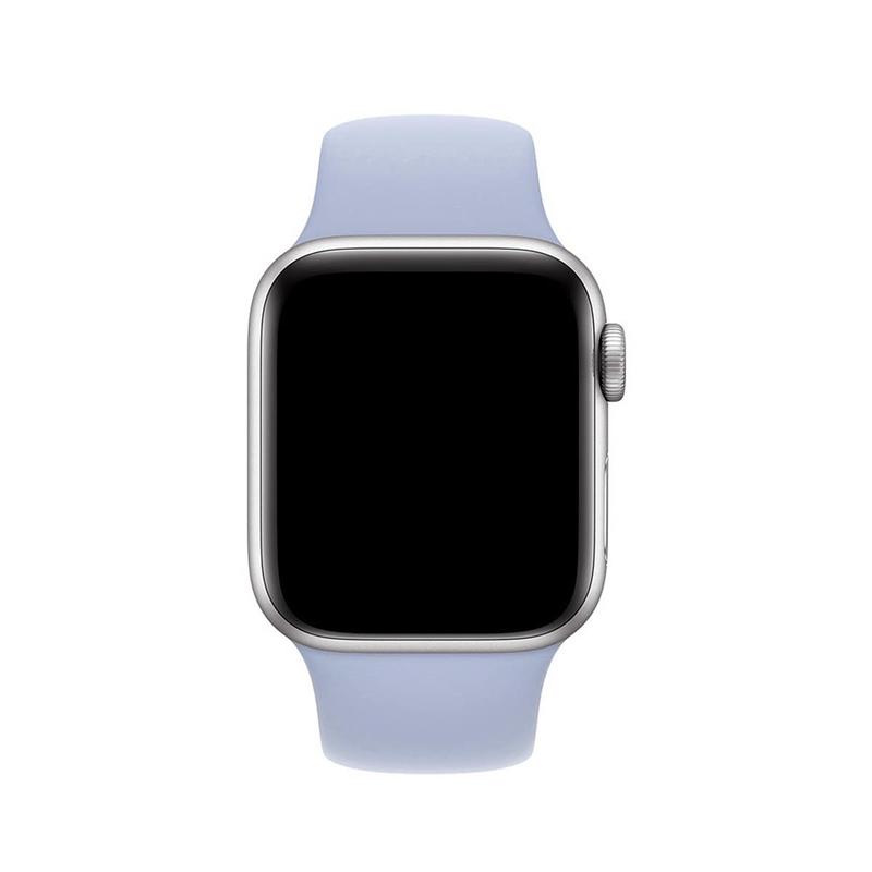 Pulseira Azul Turquesa para Apple Watch Serie (1/2/3/4/5/6/SE) de Silicone