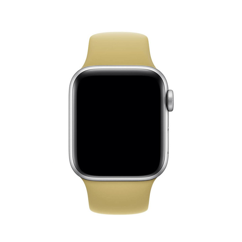 Pulseira Caramelo para Apple Watch Serie (1/2/3/4/5/6/SE) de Silicone