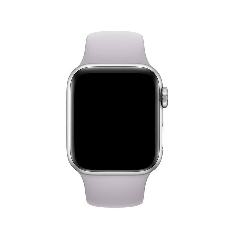 Pulseira Cinza Concreto para Apple Watch Serie (1/2/3/4/5/6/SE) de Silicone