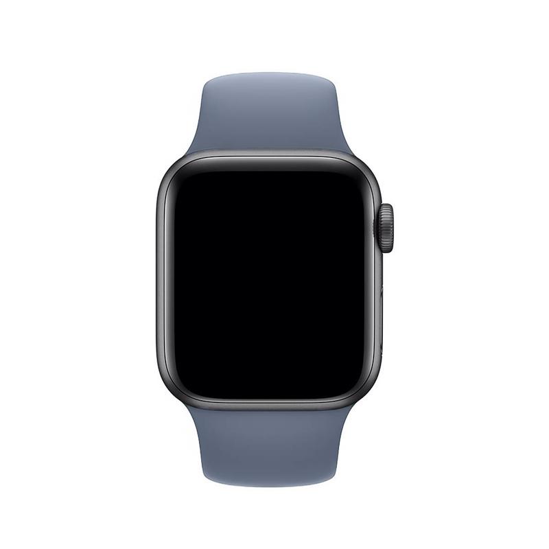 Pulseira Cinza Lavanda para Apple Watch Serie (1/2/3/4/5/6/SE) de Silicone
