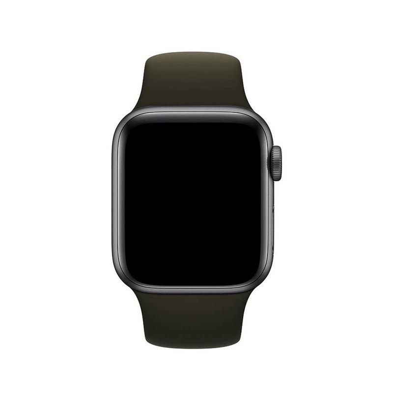 Pulseira Marrom para Apple Watch Serie (1/2/3/4/5/6/SE) de Silicone