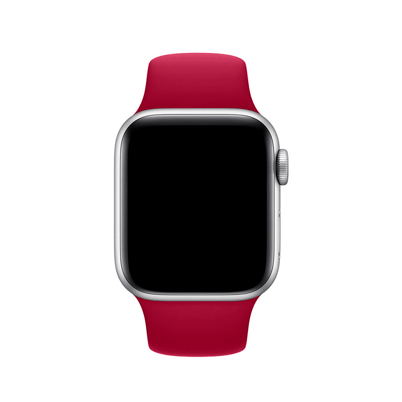 Pulseira Romã para Apple Watch Serie (1/2/3/4/5/6/SE) de Silicone