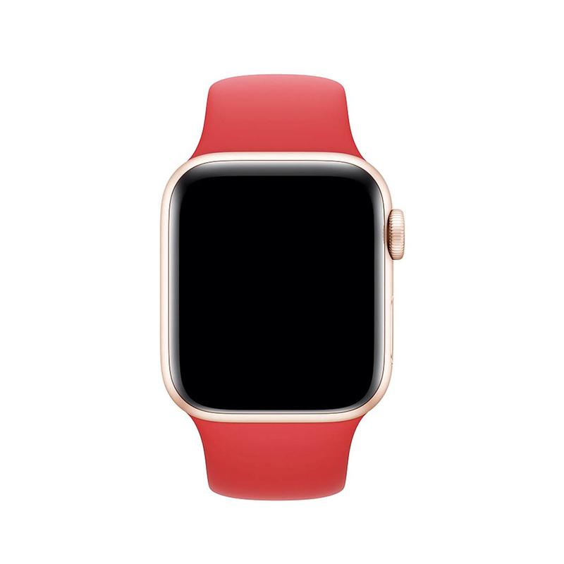 Pulseira Rosa Flamingo para Apple Watch Serie (1/2/3/4/5/6/SE) de Silicone