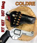 """Coldre Revólver .38 .357 Cano 4"""""""