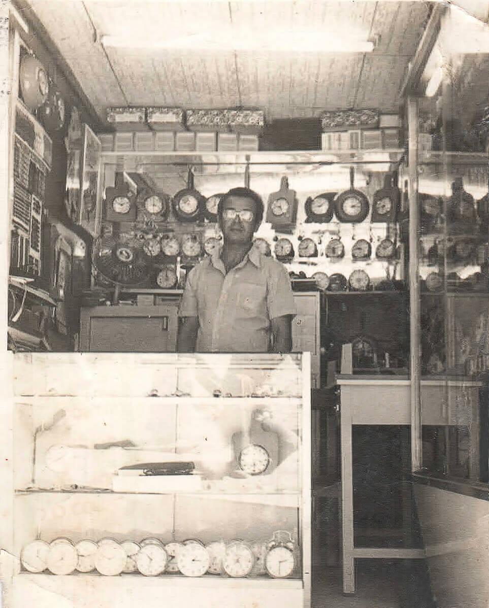 Adão Lobo - Foto de 1975.