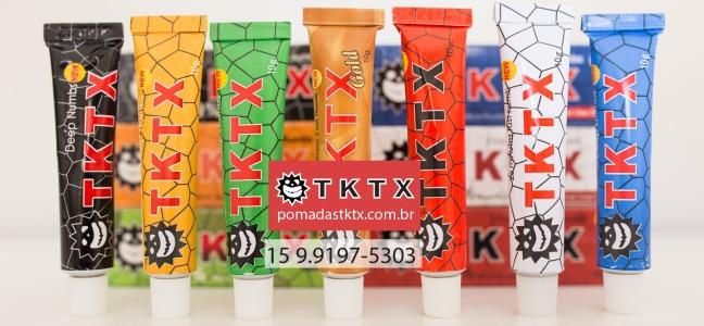 TKTX Diferença das cores