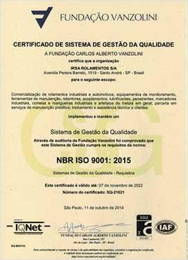 ISO 2019 PORTUGUÊS