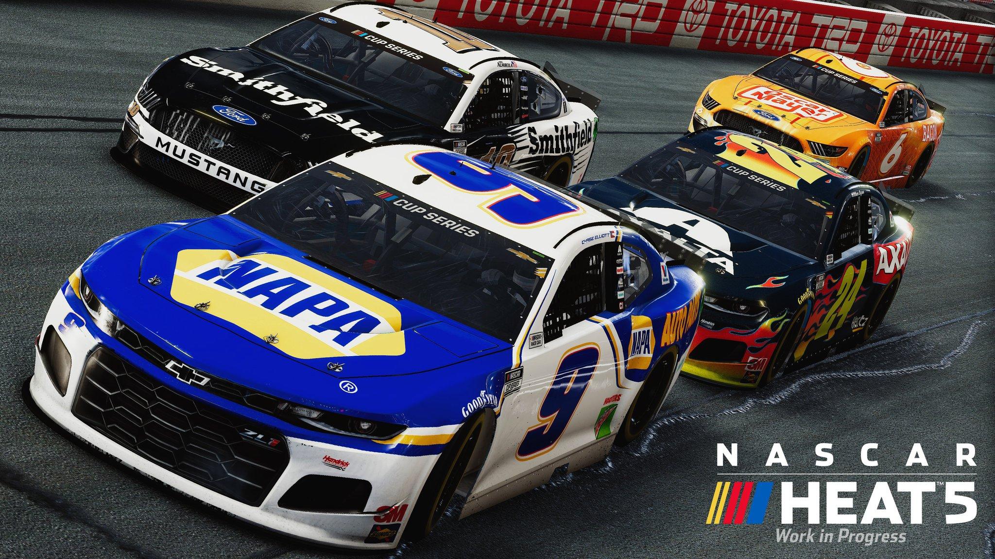 NASCAR Heat 5 PS4 midia digital - GAGO GAMES