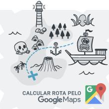 Faça sua rota pelo Google Maps