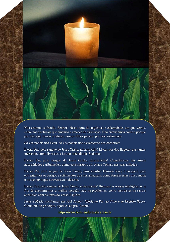 Oração de conforto espiritual.
